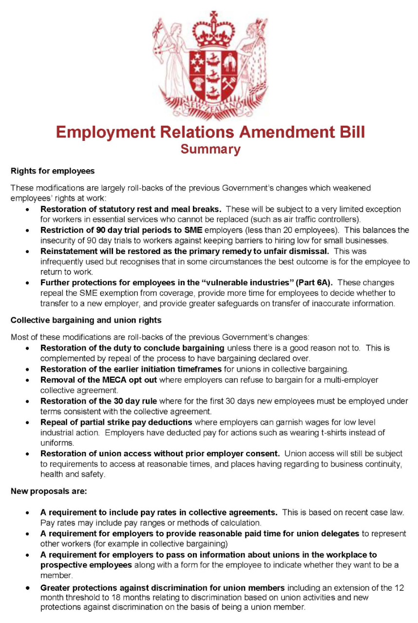 ERA Bill Summary one-page-66-127